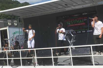 Cyph Culture at African American Festival